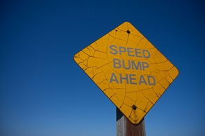 Cloud Computing Hits A Few Speed Bumps