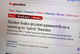 Stop Data Leaks By Changing Your Passwords