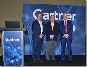 John Herring, Larry Ponemon and Ron Arden present at Gartner summit