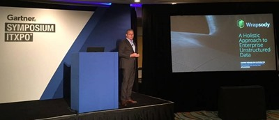 John Herring presents at Gartner Symposium 2017