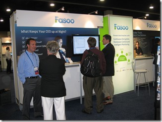 Insider Threats solved at Fasoo booth