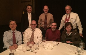 Fasoo dinner with Dr. Larry Ponemon and Dr. Paul Rohmeyer