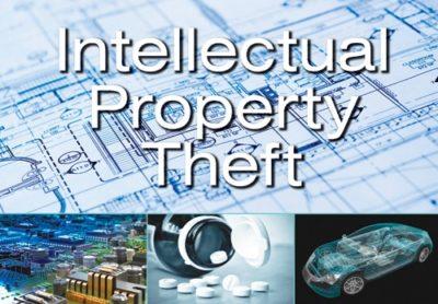 IP Theft Insider Threat Photo Montage