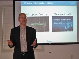 Ron Arden Shows Rochester IIA ISACA IT Conference How to Protect Sensitive Data