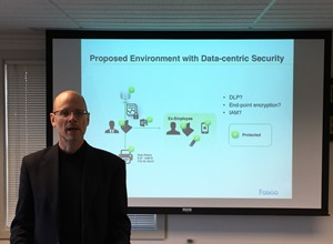 Ron Arden shows auditors how to protect against cyber threats