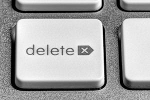 Automatically delete document